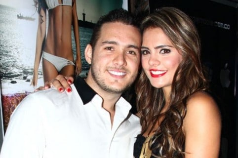 Sebastián Murillo y Vanessa Peláez.