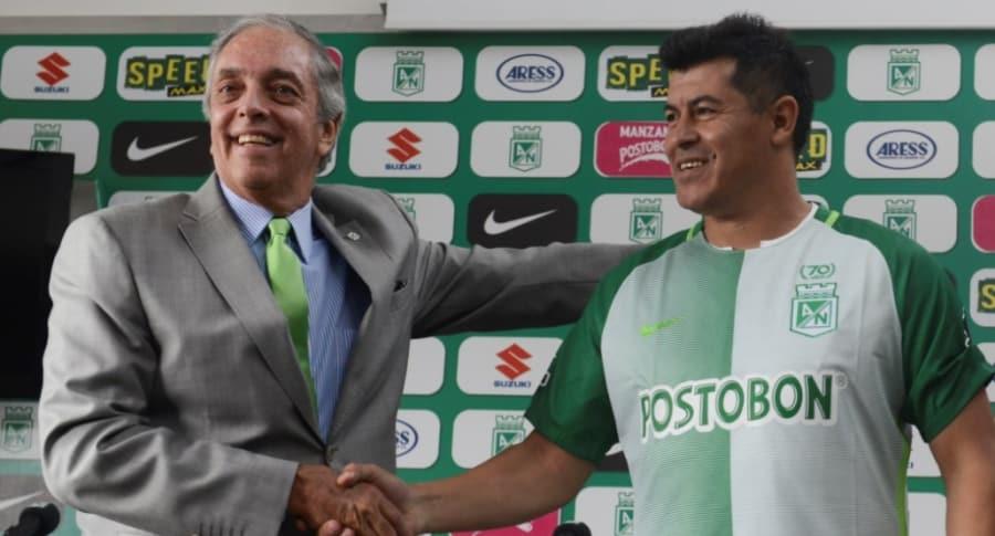 Andrés Botero y Jorge Almirón
