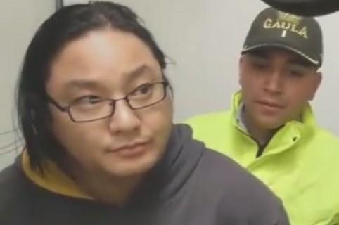 Surcoreano capturado en Bogotá