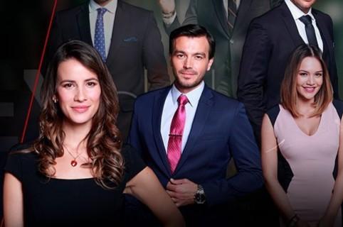 Laura Londoño, Iván López, Luciano D'Alessandro, Rodrigo Candamil, Sebastián Martínez y Lina Tejeiro, actores.