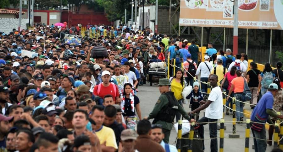 Éxodo de venezolanos