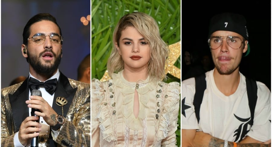 Maluma / Selena Gomez / Justin Bieber