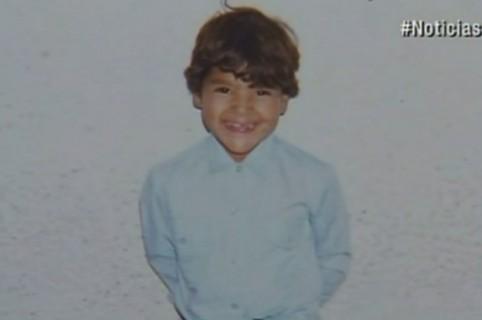 Colombiano a los 5 años de edad, cuando se perdió en Bogotá. Pulzo.