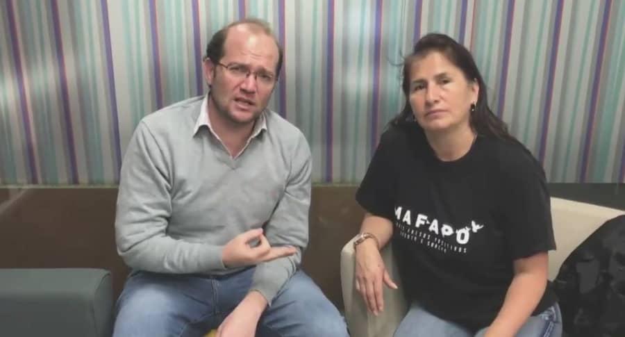 Daniel Samper Ospina y Jacqueline Castillo