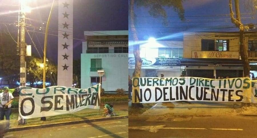 Amenazas a Deportivo Cali