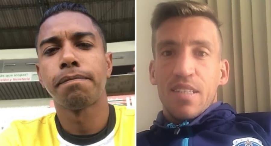 José Cuadrado y Nicolás Vikonis