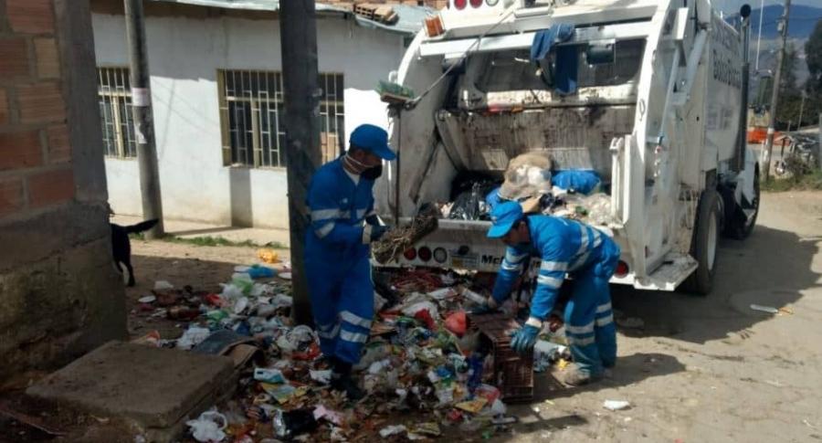 Problema de basuras en Bogotá