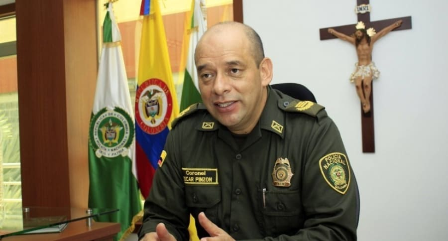 Coronel Óscar Efraín Pinzón Moreno