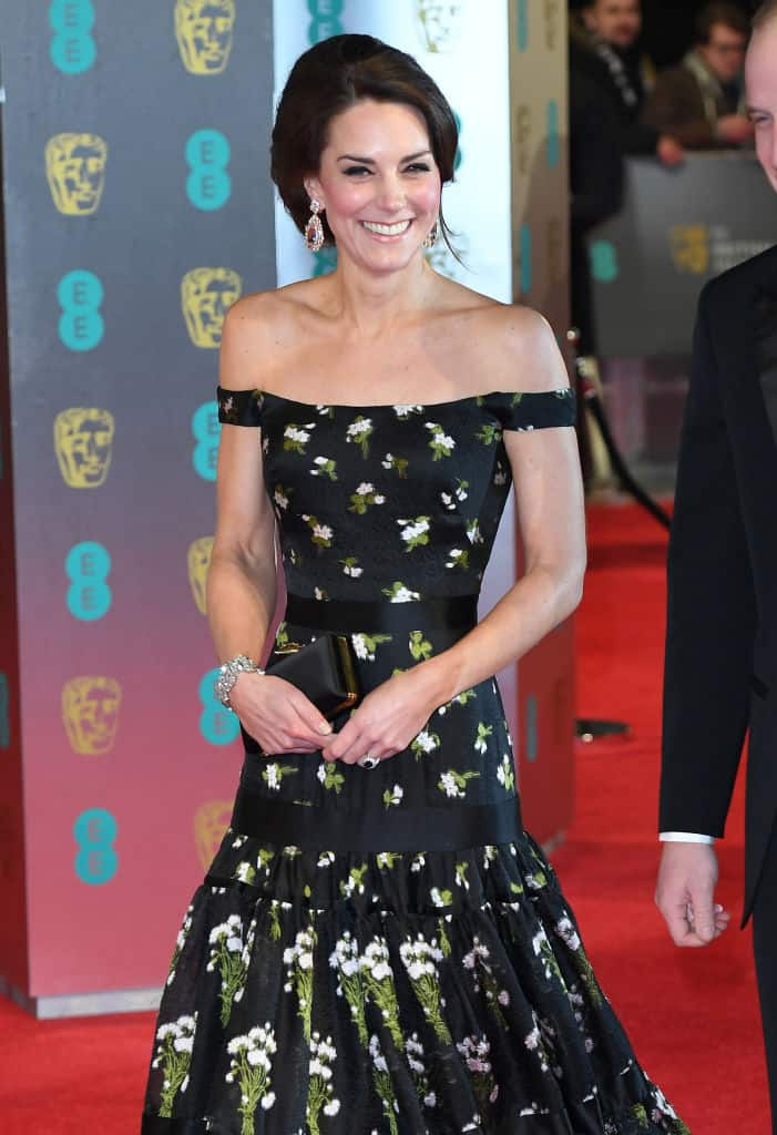 Kate Middleton en los Bafta de 2017