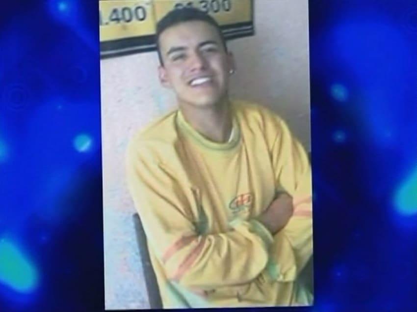 Yeison Jiménez a los 17 años