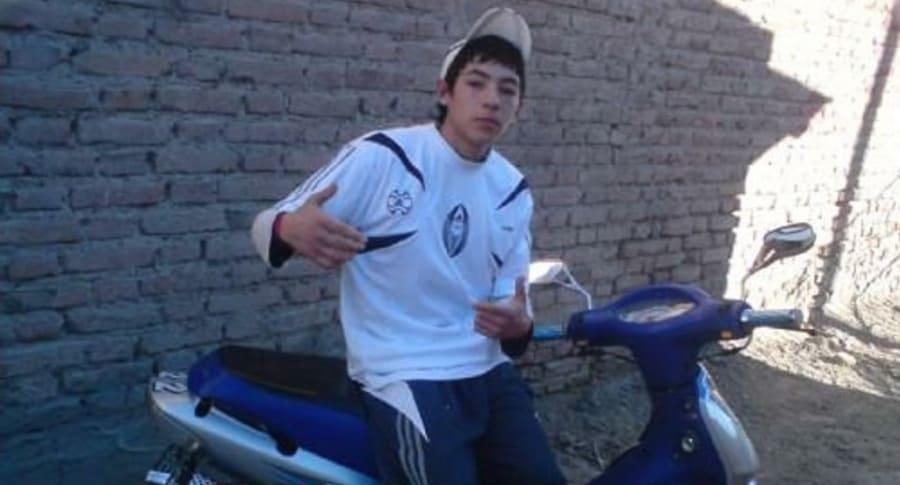 Joven argentino