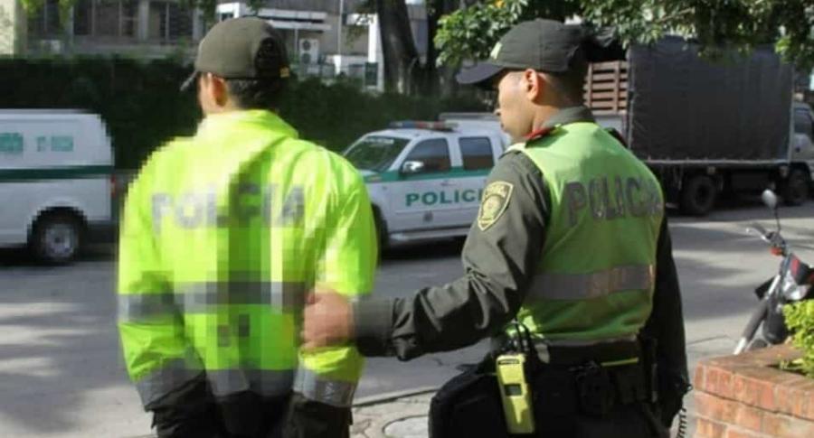 Captura de policías