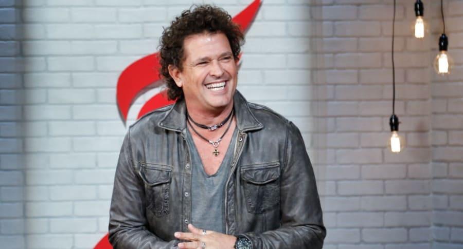 Carlos Vives, cantante.