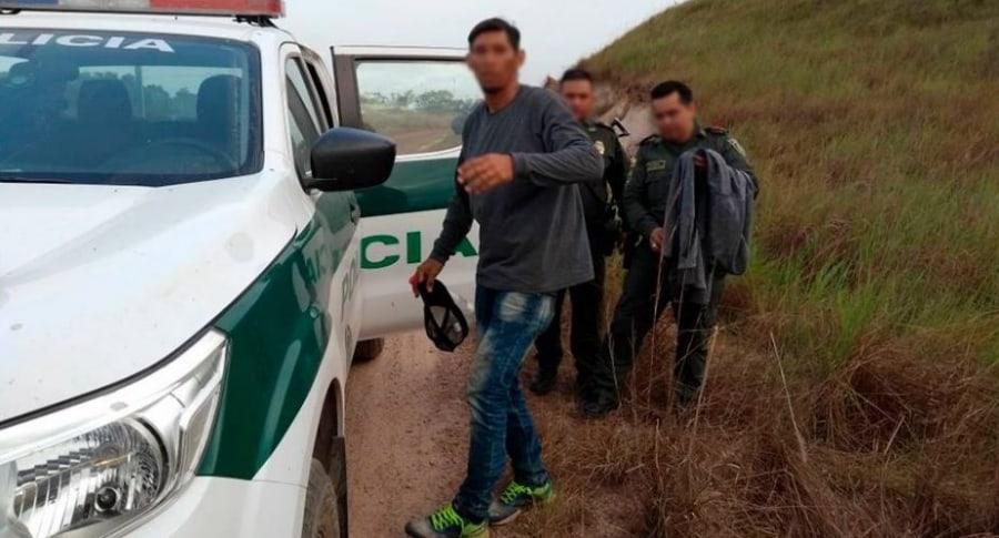 Alexánder Ospino, capturado por crimen de hijastra de 4 meses