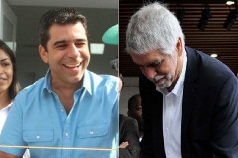 Alejandro Char y Enrique Peñalosa
