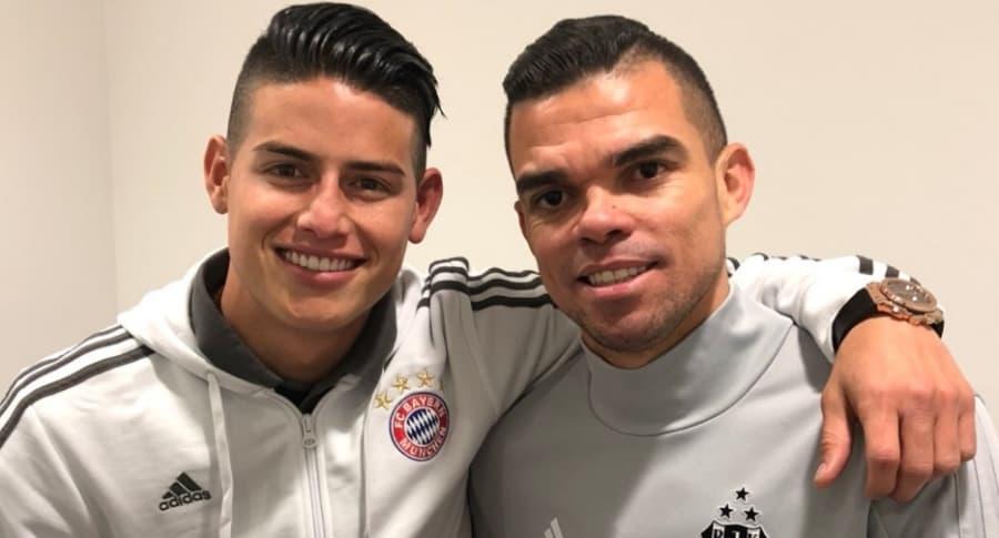 James y Pepe
