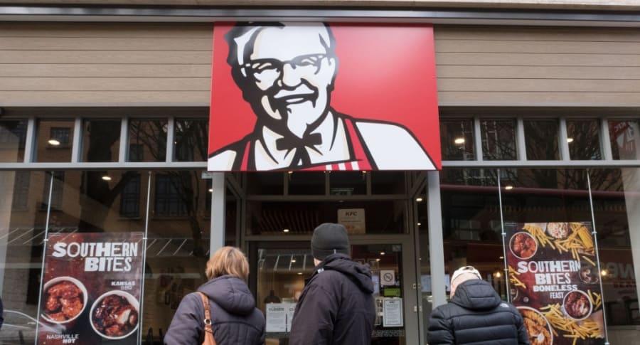 KFC en Reino Unido