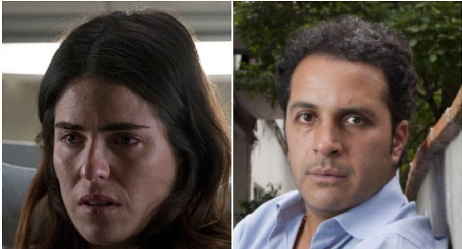 Karla Souza y Gustavo Loza