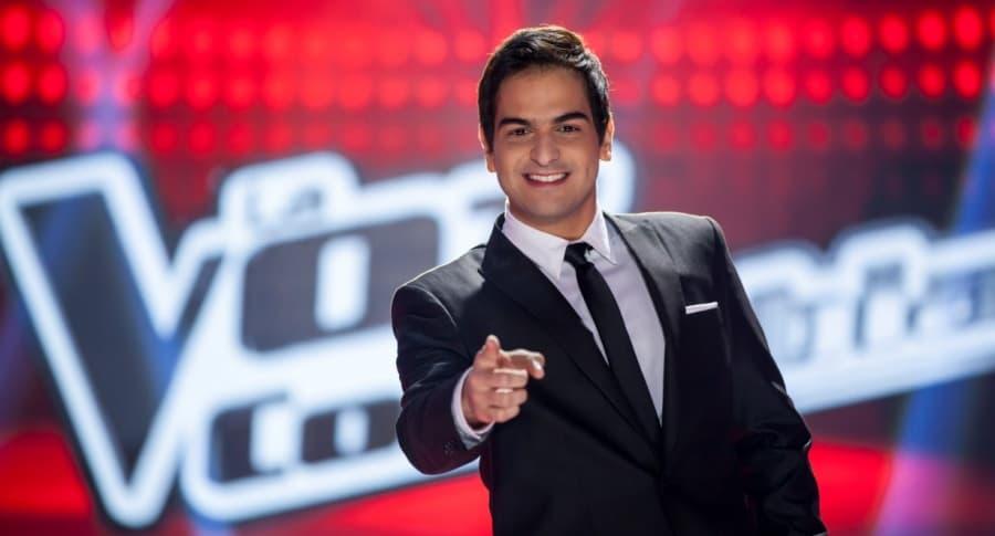 Alejandro Palacio, actor, presentador y cantante.