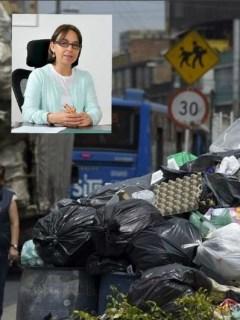 Crisis de basuras en Bogotá