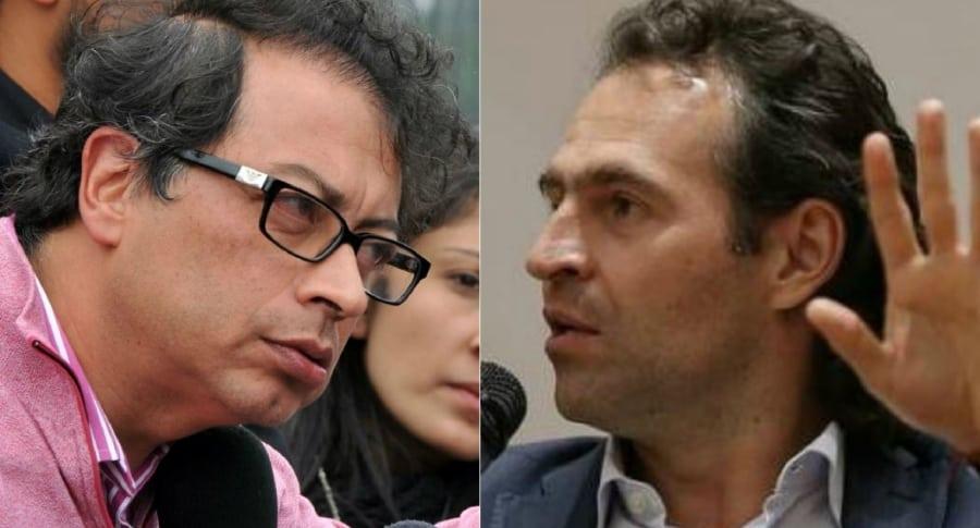 Pelea de Petro y Federico Gutiérrez