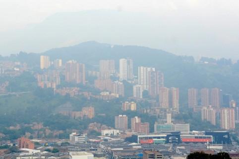 Contaminación Medellín