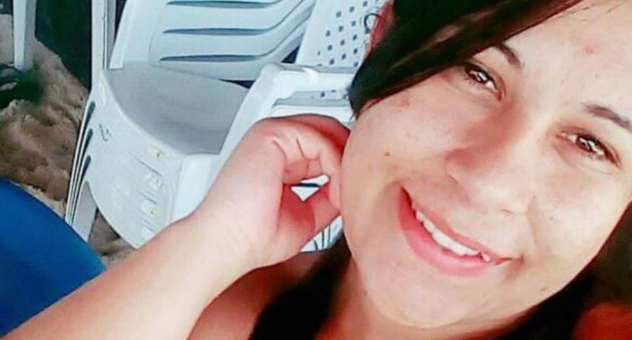 Camila Sales, mujer que murió electrocutada.