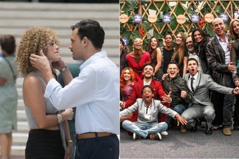 María Elisa Camargo y Roberto Urbina, protagonistas de 'Tarde lo conocí'. Elenco de 'La mamá del 10'.