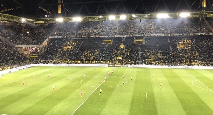 Afición del Borussia Dortmund