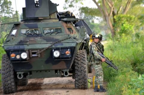 Vehículo blindado del Ejército