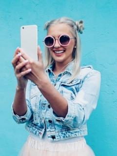 Mujer Selfie