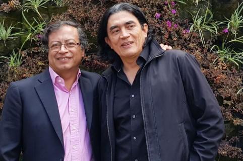 Gustavo Petro y Gustavo Bolívar