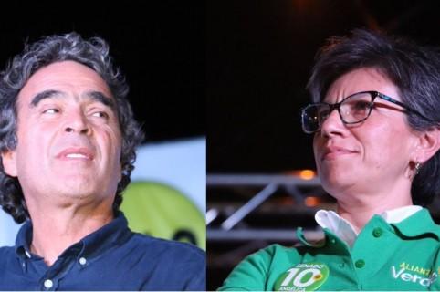 Sergio Fajardo y Claudia López