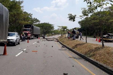 Accidente en vía Ibagué-Bogotá