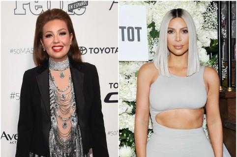 Thalía / Kim Kardashian