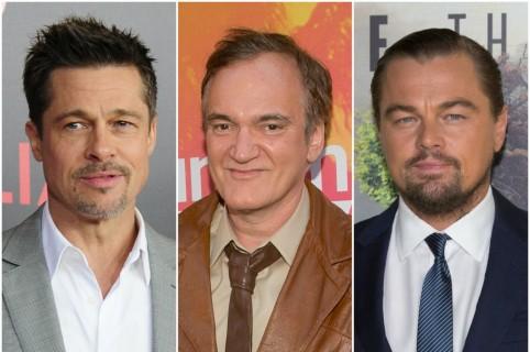Brad Pitt / Quentin Tarantino / Leonardo DiCaprio
