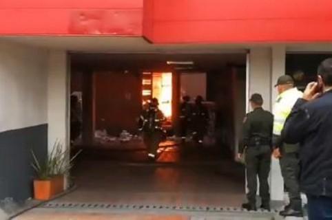 Incendio Lotería de Cundinamarca
