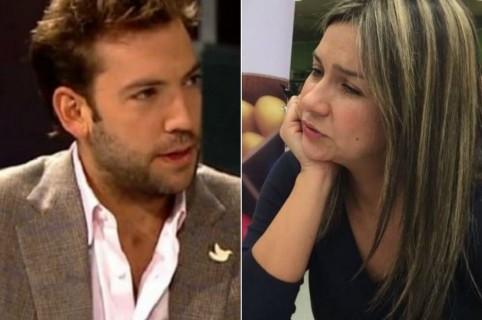 Martín Santos y Vicky Dávila