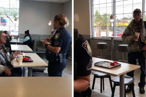Indigente McDonald's