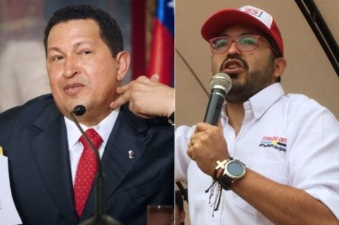 Chávez y candidato del Centro Democrático