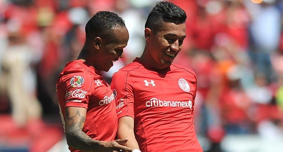 Luis Quiñones y Fernando Uribe