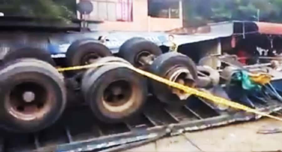 Accidente en vía Bogotá-Melgar