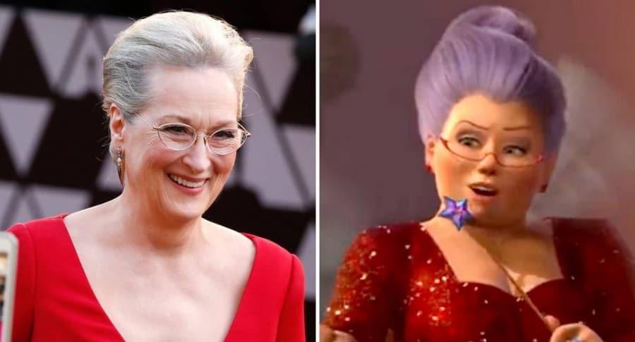 Meryl Streep / Hada madrina 'Shrek'