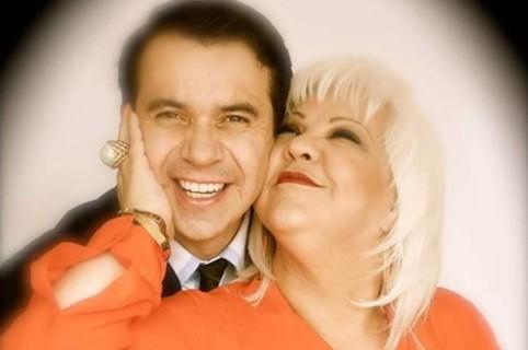 Nelson Polanía, 'Polilla', y 'la Gorda Fabiola' Posada, humoristas.