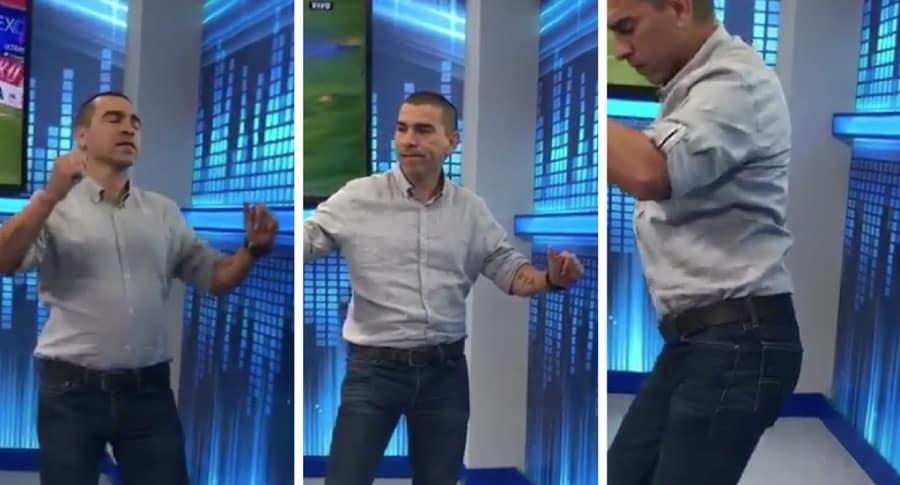 Aristizábal bailando X