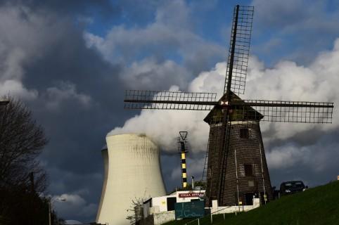 Planta nuclear de Tihange, en Bélgica