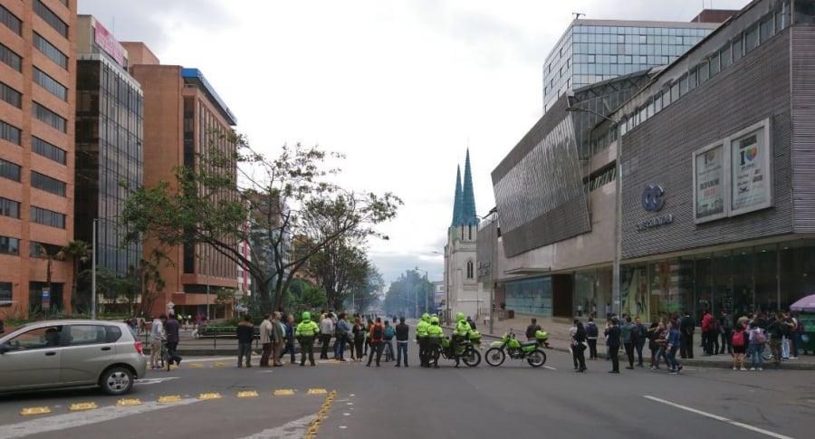 Disturbios en Universidad Pedagógica