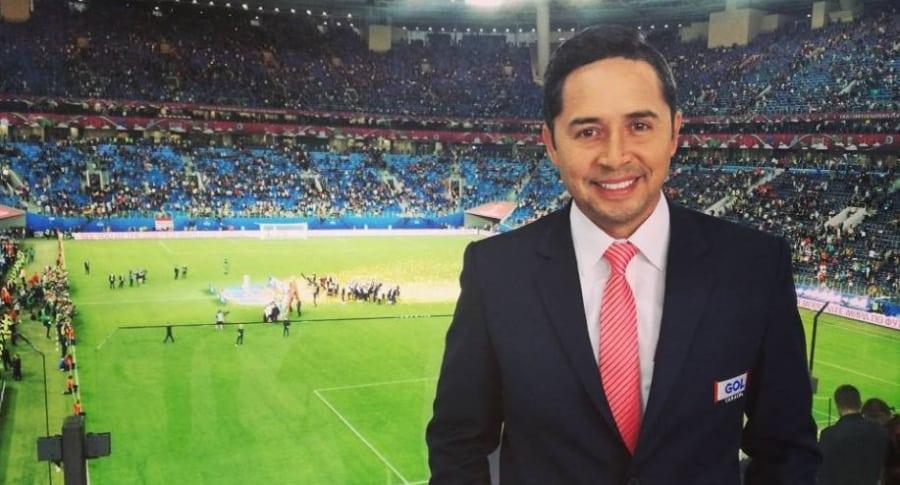 Luis Felipe Jaramillo, periodista.