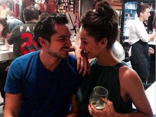 Juan Pablo Muñoz  y Carolina Guerra