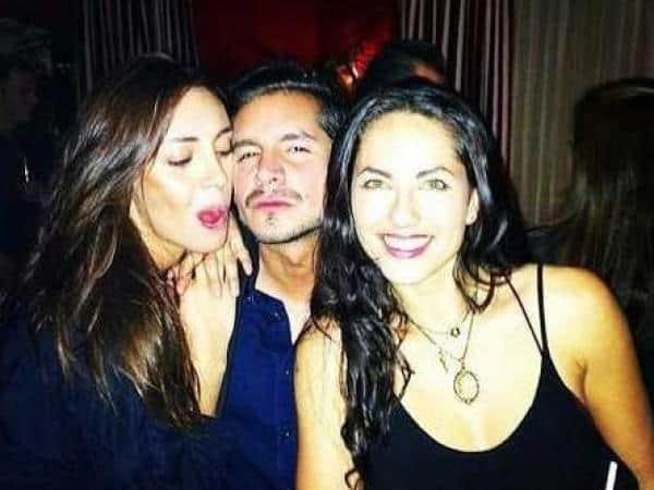 Carolina Guerra, Juan Pablo Muñoz y Barbara Mori